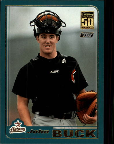 Photo of 2001 Topps Traded #T216 John Buck RC