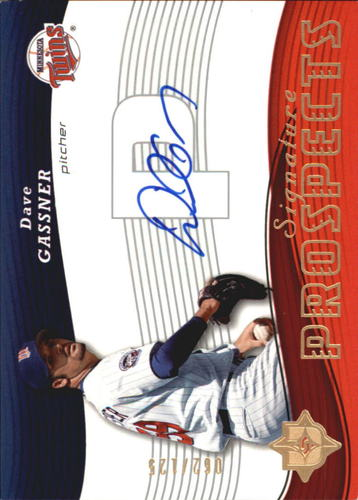 Photo of 2005 Ultimate Signature #124 Dave Gassner AU RC