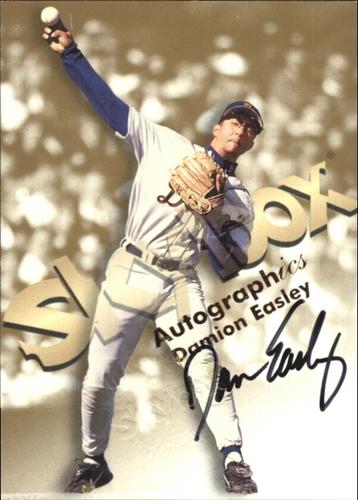 Photo of 1999 SkyBox Premium Autographics #14 Damion Easley