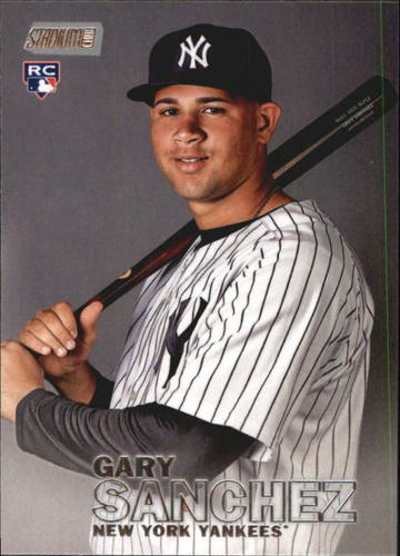 Photo of 2016 Stadium Club #1 Gary Sanchez Rookie Card
