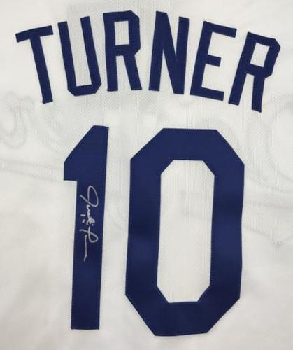 Justin Turner Autographed Authentic Dodgers Jersey