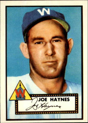 Photo of 1983 Topps 1952 Reprint #145 Joe Haynes