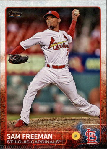 Photo of 2015 Topps #678 Sam Freeman