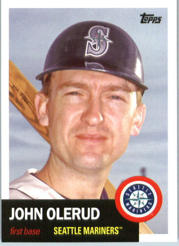 Photo of 2016 Topps Archives #79 John Olerud