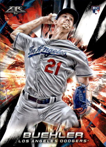 Photo of 2018 Topps Fire #139 Walker Buehler RC