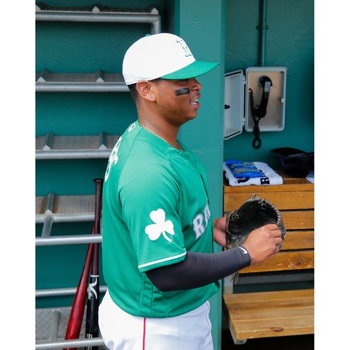 90bec57a0 Photo of Red Sox Foundation St. Patrick s Day - Rafael Devers Game-Used and