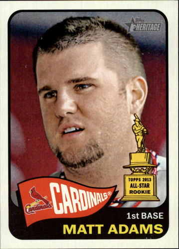 Photo of 2014 Topps Heritage #127 Matt Adams