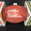 HOF - Jets Curtis Martin Signed Authentic Football