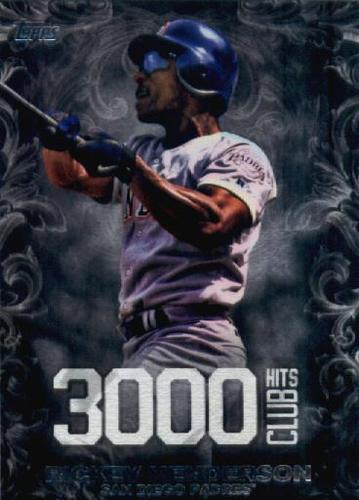 Photo of 2016 Topps Update 3000 Hits Club #3000H15 Rickey Henderson