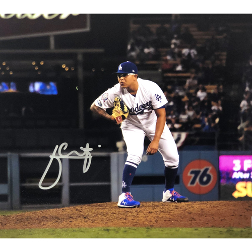 Photo of Julio Urias Authentic Autographed Photograph
