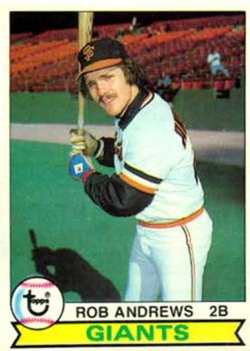 Photo of 1979 Topps #34 Rob Andrews