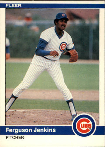 Photo of 1984 Fleer #494 Ferguson Jenkins