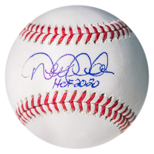 Photo of PRESALE: Derek Jeter Autographed Baseball with 'HOF 2020' Inscription