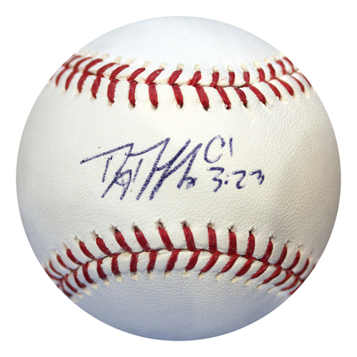 Photo of Autographed Baseball: Danny Duffy