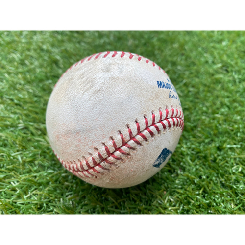Game-Used Baseball: Cheslor Cuthbert 46th Career Double (CWS @ KC - 7/18/19)
