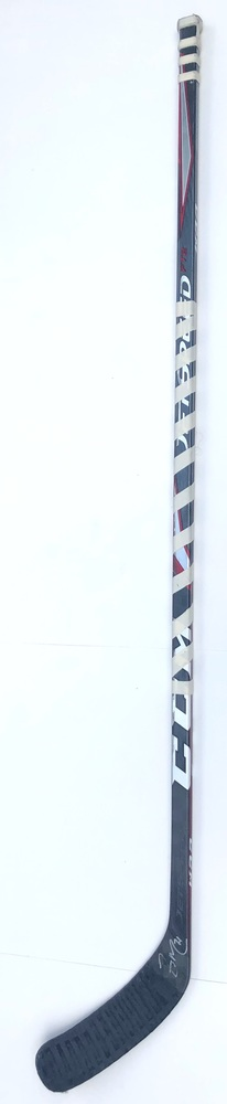 #71 Zack MacEwen Game Used Stick - Autographed - Vancouver Canucks