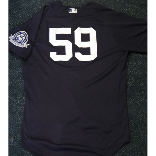 Photo of Team-Issued Spring Training Jersey - Luke Voit - #59 - Jersey Size - 46