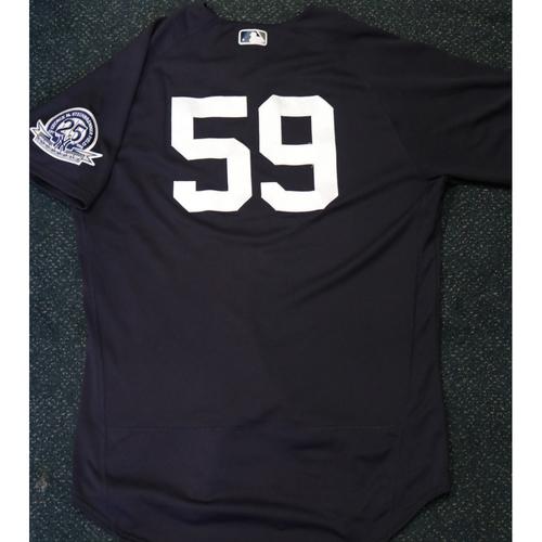 Team-Issued Spring Training Jersey - Luke Voit - #59 - Jersey Size - 46