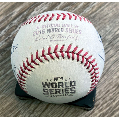Photo of UMPS CARE AUCTION: Crew Signed Baseball From 2016 World Series