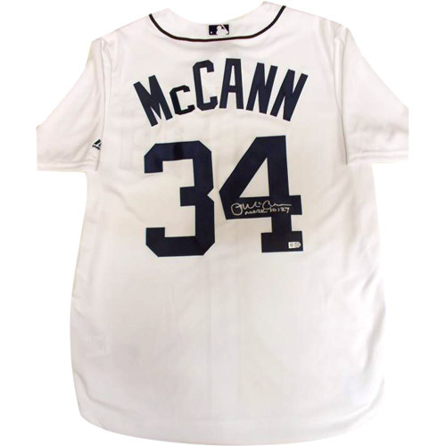 Photo of Detroit Tigers James McCann Autographed Jersey