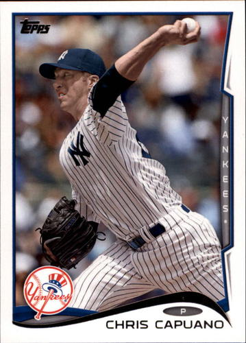 Photo of 2014 Topps Update #US204A Chris Capuano