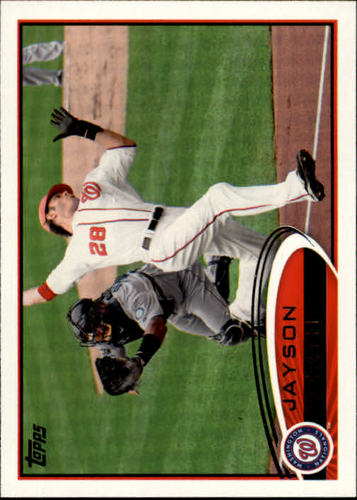 Photo of 2012 Topps #295 Jayson Werth