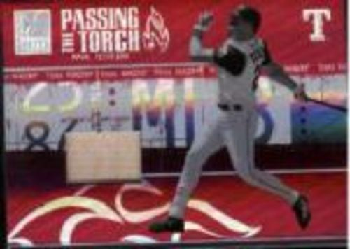 Photo of 2005 Donruss Elite Passing the Torch Bats #21 Mark Teixeira/250