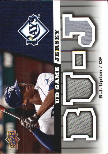 Photo of 2009 Upper Deck UD Game Jersey #GJBU B.J. Upton