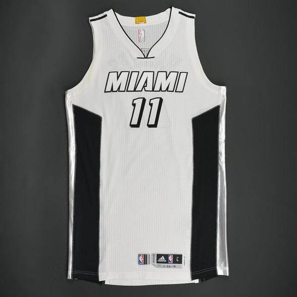 low priced 2f9cd 0a24f canada miami heat white out jersey 916bd 04957