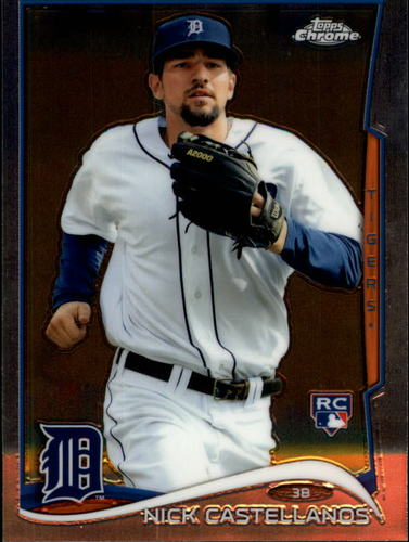 Photo of 2014 Topps Chrome #4 Nick Castellanos Rookie Card
