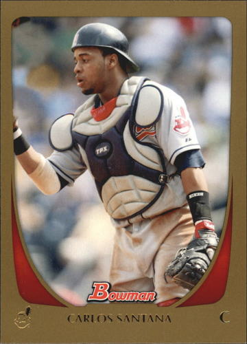 Photo of 2011 Bowman Gold #7 Carlos Santana