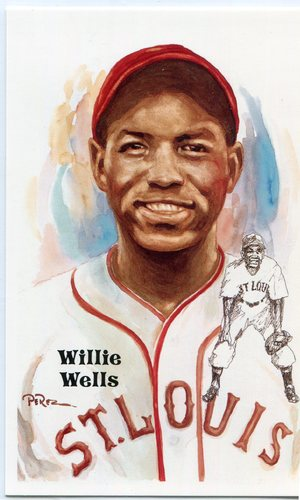Photo of 1980-02 Perez-Steele Hall of Fame Postcards #232 Willie Wells -- HOF Class of 1997