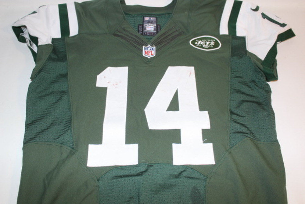 the latest 62754 ba4f1 NFL Auction | BCA - JETS RYAN FITZPATRICK GAME WORN JETS ...