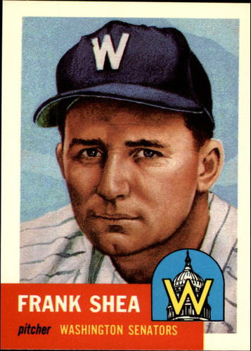 Photo of 1991 Topps Archives 1953 #164 Frank Shea