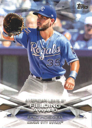 Photo of 2018 Topps MLB Awards #MLBA16 Eric Hosmer