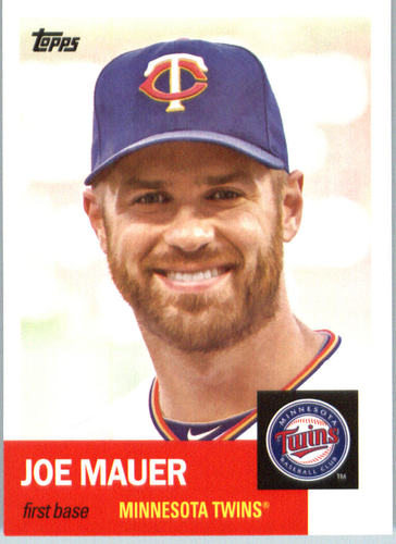 Photo of 2016 Topps Archives #85 Joe Mauer