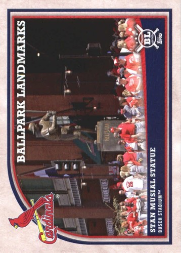 Photo of 2018 Topps Big League #362 Stan Musial Statue