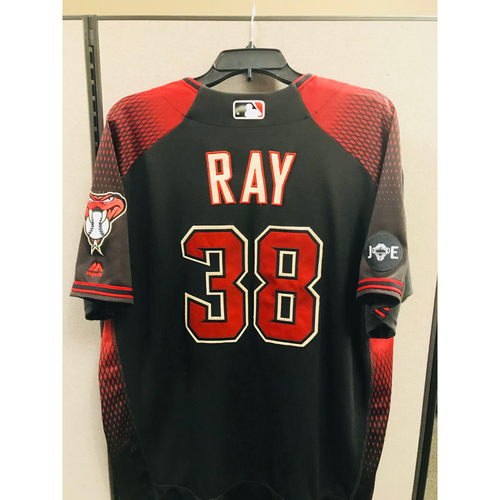 Photo of 2016 Team-Issued Robbie Ray Jersey