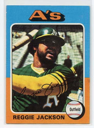 Photo of 1975 Topps #300 Reggie Jackson
