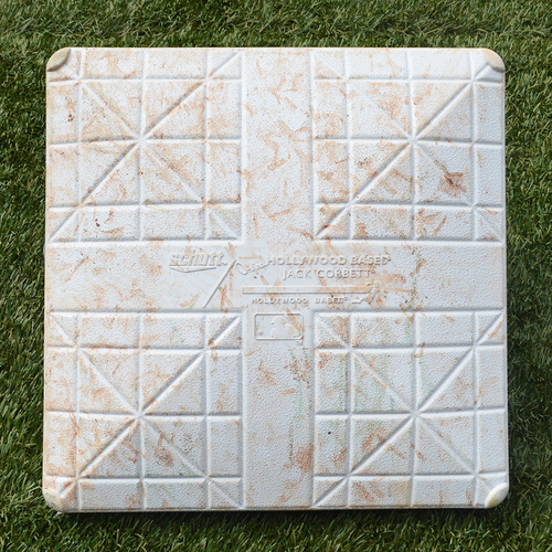 Photo of Game Used Subway Series 1st Base - Innings 4-6 - Mets vs. Yankees - 6/8/18