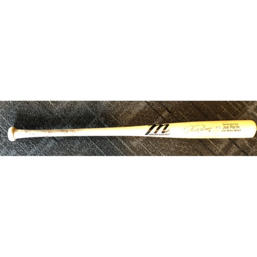 Photo of 2019 Autographed Team Issued Game Model Bat - #12 Joe Panik