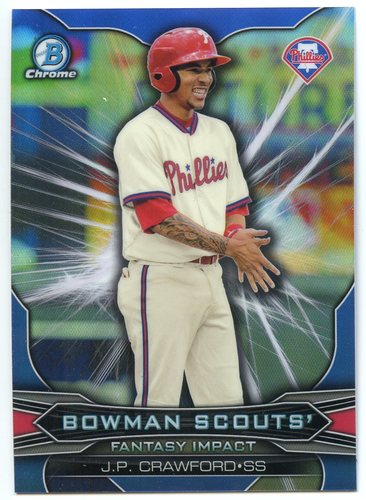 Photo of 2015 Bowman Chrome Draft Scouts Fantasy Impacts #BSIJC J.P. Crawford