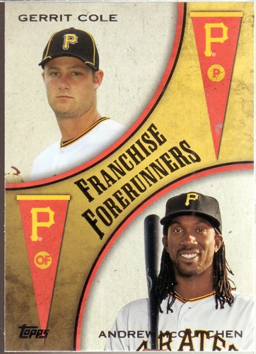 Photo of 2013 Topps Update Franchise Forerunners #4 Andrew McCutchen/Gerrit Cole