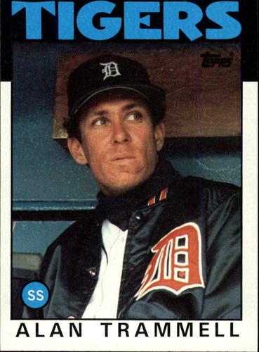 Photo of 1986 Topps #130 Alan Trammell