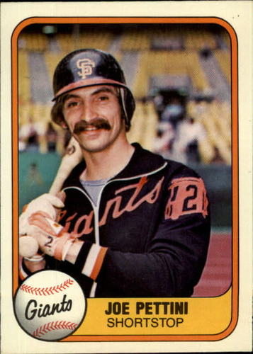Photo of 1981 Fleer #453 Joe Pettini RC