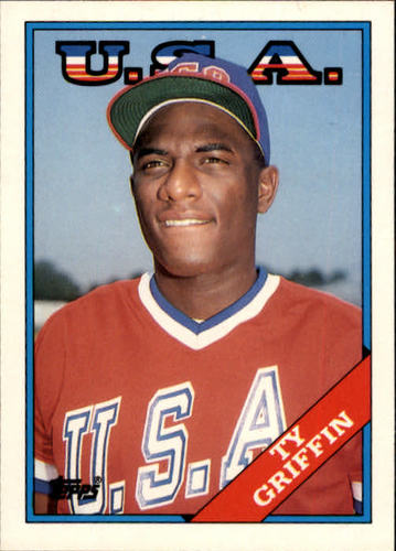 Photo of 1988 Topps Traded #44T Ty Griffin OLY