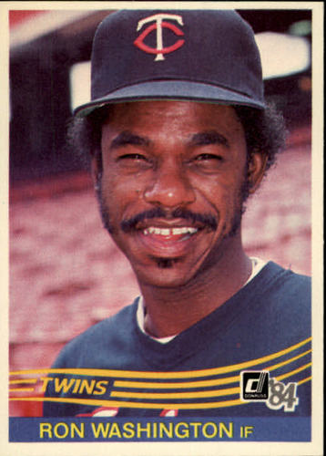 Photo of 1984 Donruss #391 Ron Washington