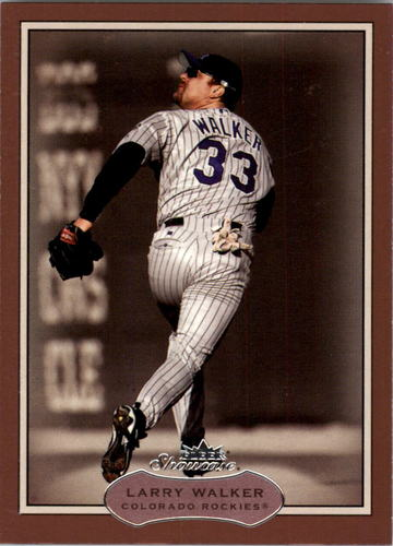Photo of 2003 Fleer Showcase #38 Larry Walker