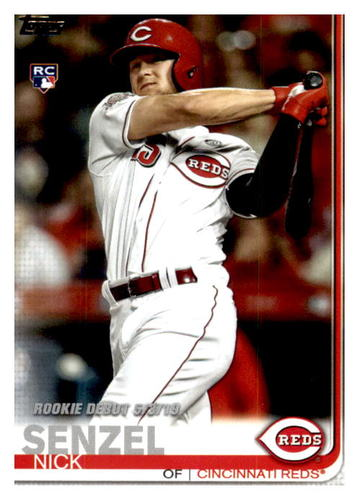 Photo of 2019 Topps Update #US95 Nick Senzel RD