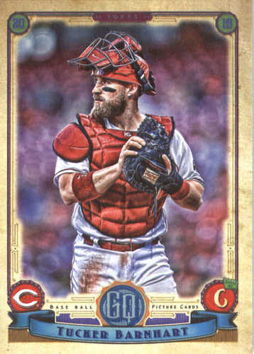 Photo of 2019 Topps Gypsy Queen #195 Tucker Barnhart